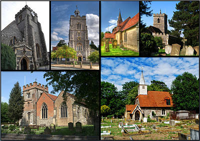 Photograph - Churches Of Hillingdon by Chris Day