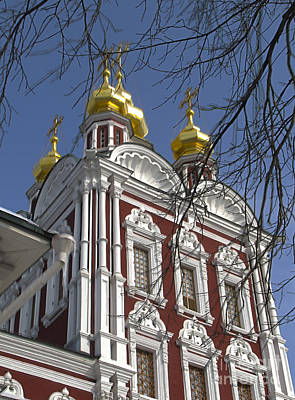 Churches Russia6 Art Print by Yury Bashkin