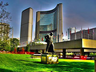 Photograph - Churchill In Toronto - 10 Years Ago Toronto by Rezzan Erguvan-Onal