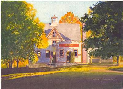 Cider Mill Painting - Cider Mill by Tom Jennerwein