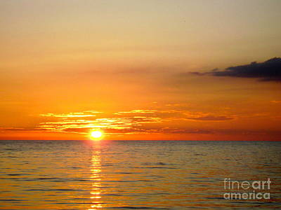Cienfuegos Sunset  Art Print by Laurel Fredericks