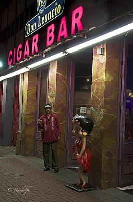 Photograph - Cigar Bar by Cheri Randolph