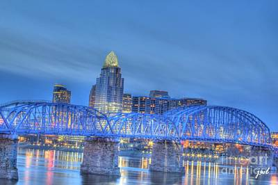 Photograph - Cincinnati Skyline by Jeremy Lankford