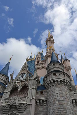 Photograph - Cinderella's Castle by Bonnie Myszka