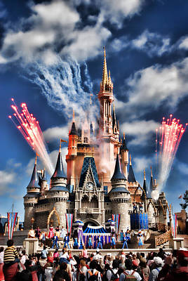 Photograph - Cinderella's Castle by Brent Craft