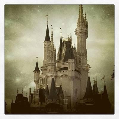Fairy Photograph - Cinderella's Castle by Julie M
