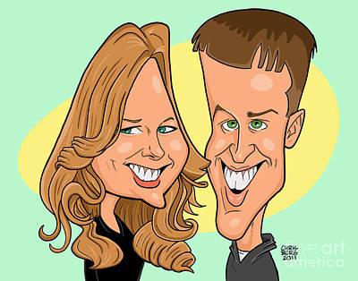 Cindy And Jordan Art Print by Chris Berg
