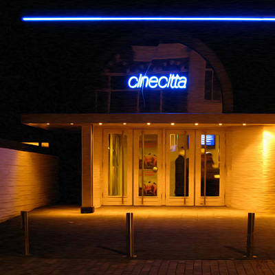 Lights Photograph - Cinecitta Tilburg by Nop Briex
