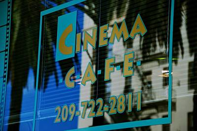 Photograph - Cinema Cafe by Eric Tressler