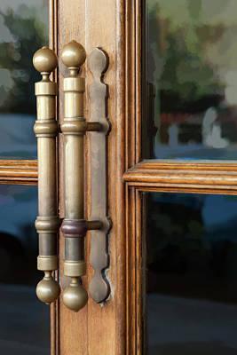 Photograph - Cinema Door by Michael Flood