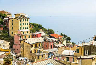 Cinque Terre - Riomaggiore Art Print by Michal Krakowiak