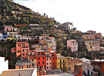 Cinque Terre I Art Print by David Ritsema