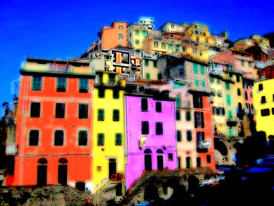 Photograph - Cinque Terre In Bloom by Caroline Stella