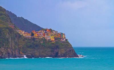 Y120907 Photograph - Cinque Terre Italy by Albert Tan photo