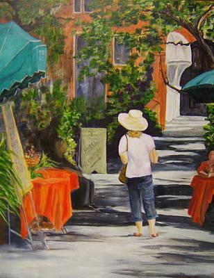 Cinque Terre Stroll Art Print by Maureen Pisano