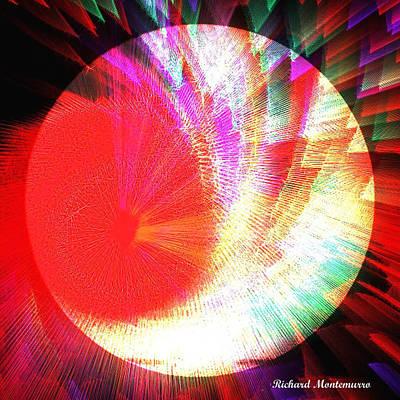 Circle In A Square Original by Richard  Montemurro