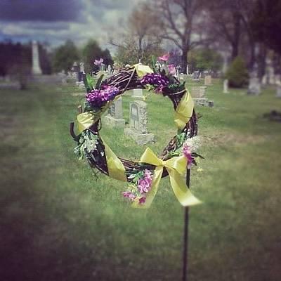 Decorative Photograph - #circle #ribbon #flower #flowers #reef by Kayla St Pierre