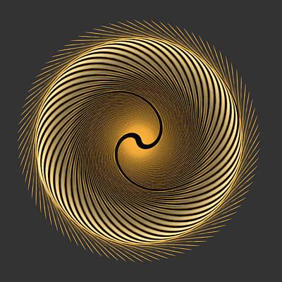 Digital Art - Circle Study No. 303 by Alan Bennington