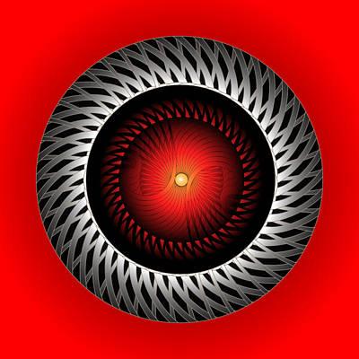 Digital Art - Circle Study No. 306 by Alan Bennington