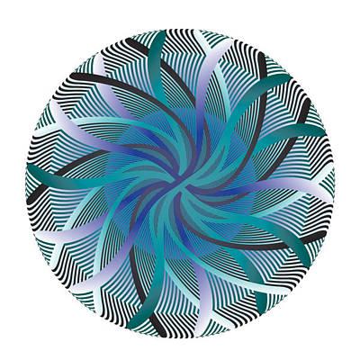 Digital Art - Circle Study No. 96 by Alan Bennington