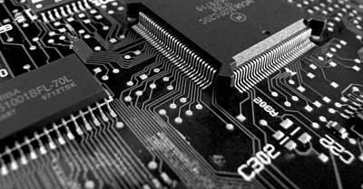 Ic Art Photograph - Circuit Board by Darren Burroughs