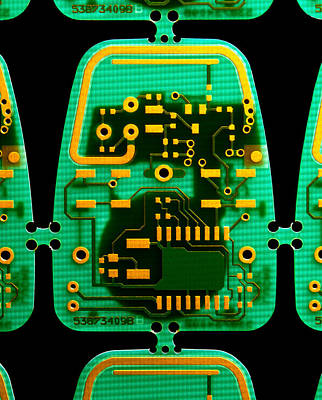 Integrated Photograph - Circuit Boards by Adam Hart-davis