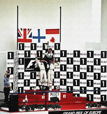 Circuito De Jerez 1997 Art Print
