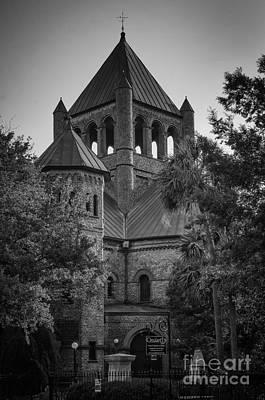 Photograph - Circular Church Charleston Sc by David Waldrop