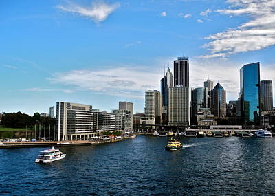Photograph - Circular Quay In Sydney by Kirsten Giving