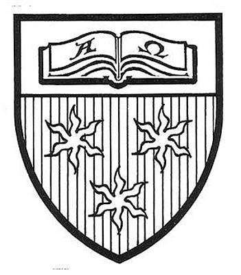Drawing - Cis Shield Of Arms by David Burkart