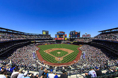 New York Baseball Parks Photograph - Citifield by Rick Berk