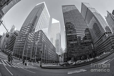 Crosswalk Photograph - Citigroup Center From Park Avenue II by Clarence Holmes
