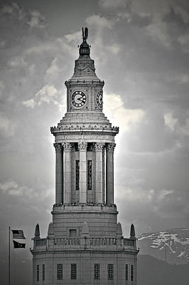 City And County Of Denver Building Art Print by Christine Till