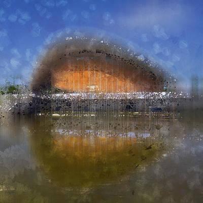 Abstract Sights Digital Art - City-art Berlin Pregnant Oyster by Melanie Viola