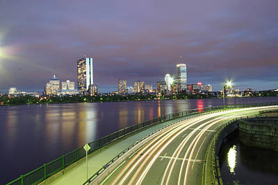 Charles River Photograph - City Flow by Eric Hill