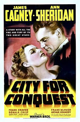 City For Conquest, Ann Sheridan, James Art Print