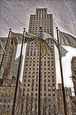 Art Print featuring the photograph City Glitz by Anne Rodkin