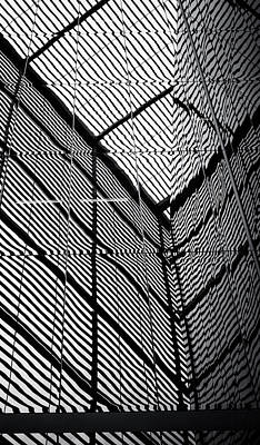 Photograph - City Grid by Lenny Carter