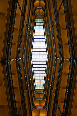 Digital Art - City Hall Atrium by Geoff Strehlow