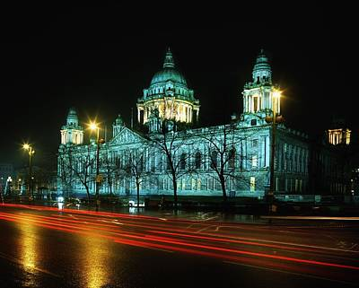 City Hall, Belfast, Ireland Art Print by The Irish Image Collection