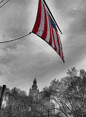 Photograph - City Hall by Bennie Reynolds