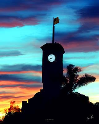 City Hall Digital Art - City Hall In Deerfield Beach Florida by Jeffrey Graves