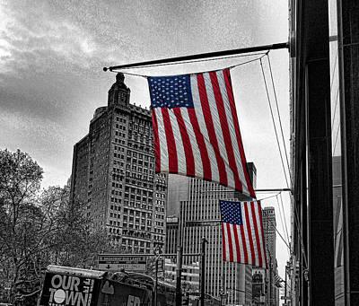 Photograph - City Hall Park by Bennie Reynolds