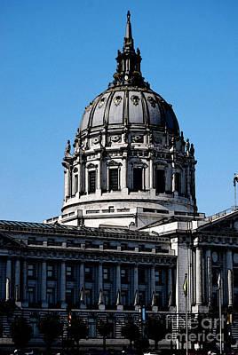 Photograph - City Hall San Francisco by Morgan Wright