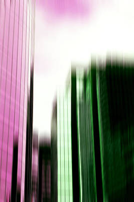 Digital Art - City Life by Margaret Hormann Bfa