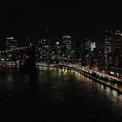 Nyc Skyline Wall Art - Photograph - City Lights - New York by Joel Lopez