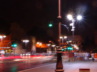 Photograph - City Lights by Alessandro Della Pietra