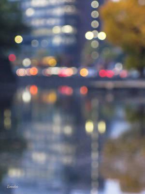Photograph - City Lights by Eena Bo