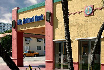 Photograph - City National Bank. Miami. Fl. Usa by Juan Carlos Ferro Duque
