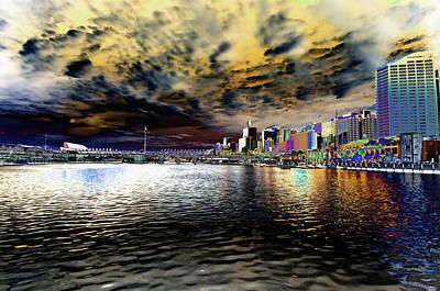 Sydney Skyline Photograph - City Of Color by Douglas Barnard
